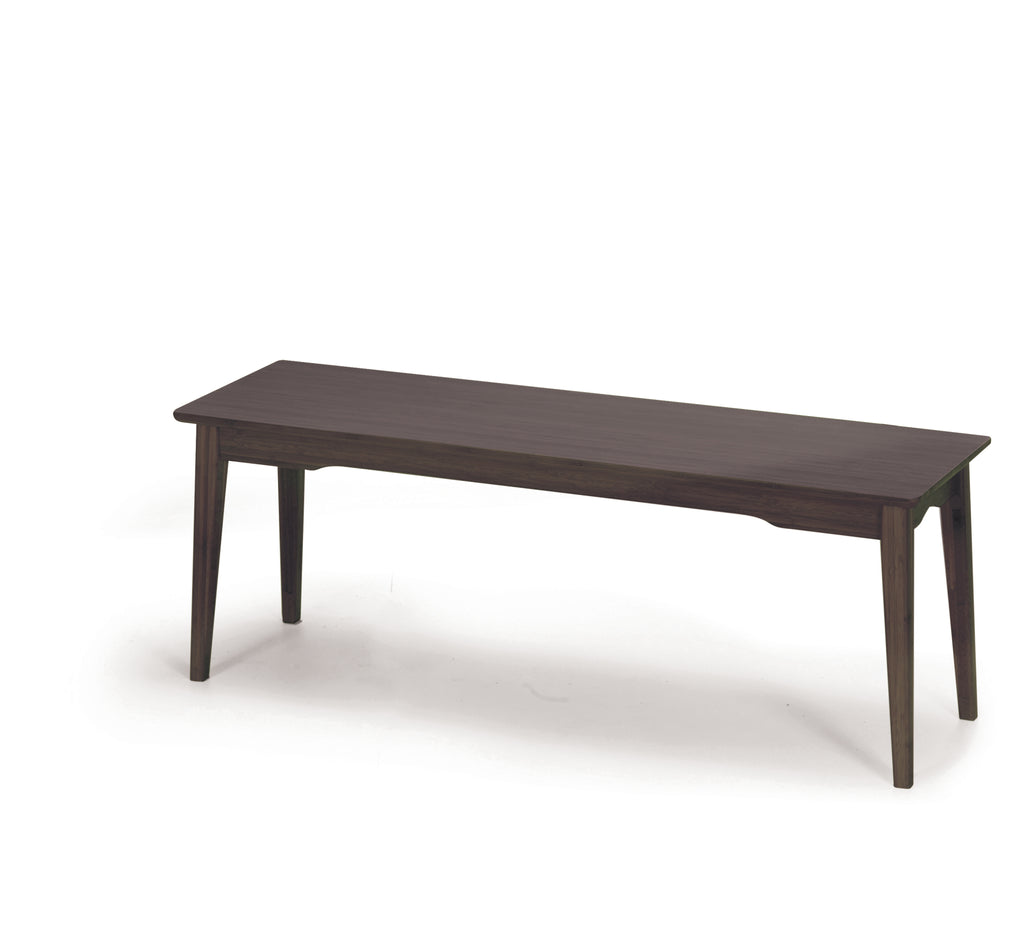 Currant Short Bench, Black Walnut