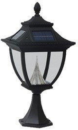 Pagoda Solar Lamp - Post Mount (GS-104P)