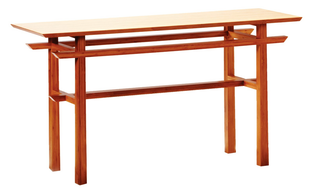 Lotus Bamboo Console Table from Greenington
