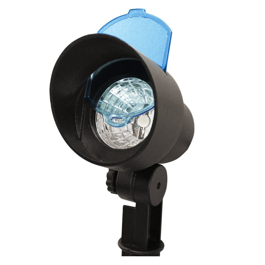 Solar-Charged LED Accent Spotlight with Color Filters (GS-150)
