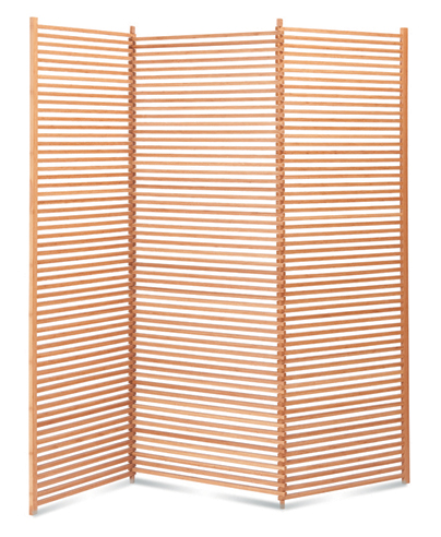 Lilac Bamboo Screen from Greenington
