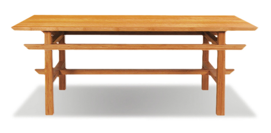 Lotus Bamboo Coffee Table from Greenington