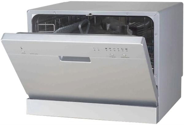 SPT Counter Top Dishwasher in Silver (SD-2201S)