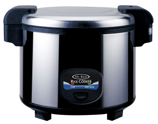 Sunpentown 35-Cup Stainless-Steel Heavy-Duty Rice Cooker (SC-5400S)