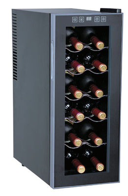 Sunpentown WC-1271 ThermoElectric 12-Bottle Slim Wine Cooler
