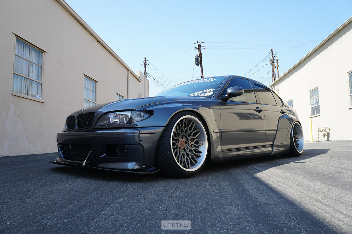 Pandem 4 door BMW E46 by LTMW – LTMOTORWERKS