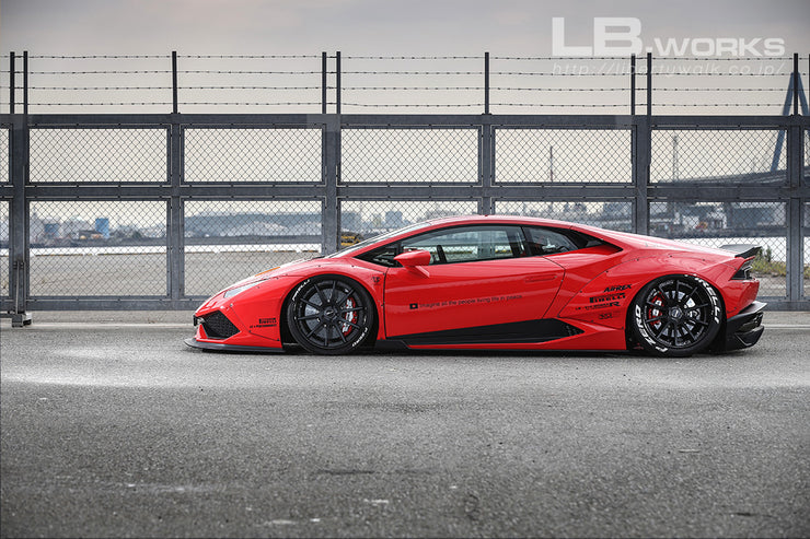 LB-WORKS HURACAN ver.1 Complete Body kit with exchange fender type
