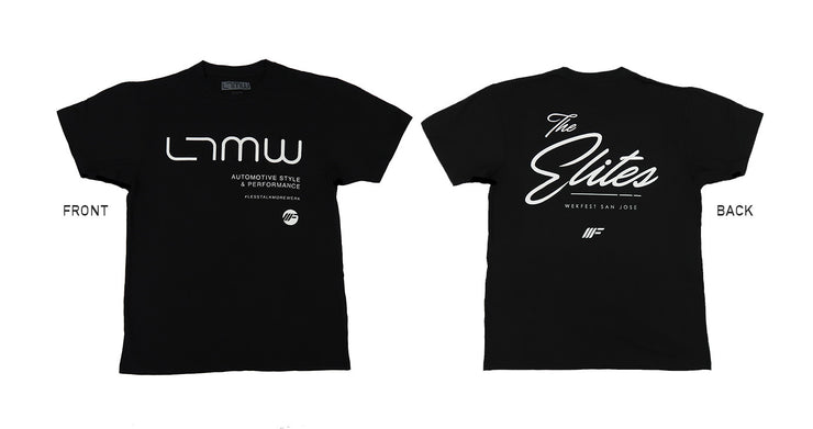"LTMW ""The Elite"" WekFest San Jose Tee (Limited Quantity) $25.00"