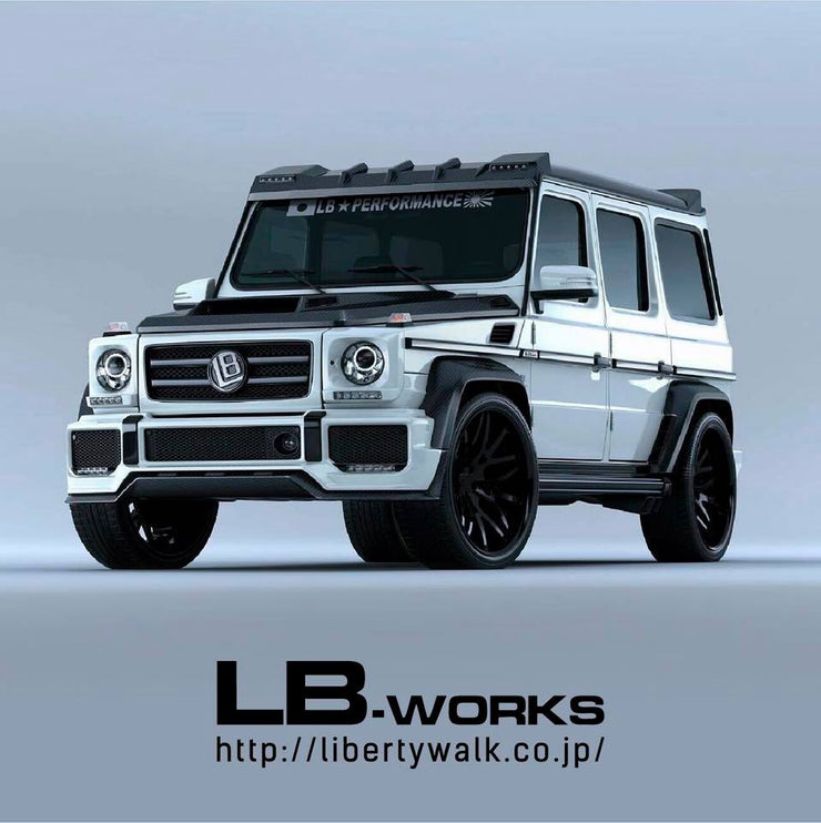 LB-WORKS G63 Premium complete body kit