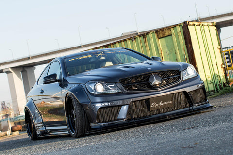 LB★WORKS MERCEDES-BENZ C63 coupe & sedan W204
