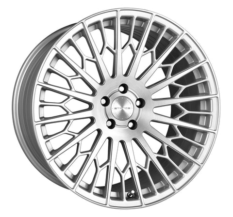 STANCE WHEELS SF02 BRUSH FACE SILVER