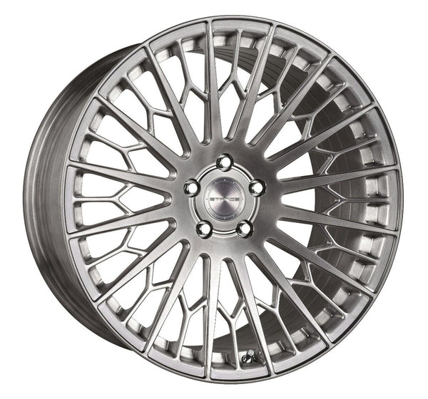 STANCE WHEELS SF02 BRUSH TITANIUM