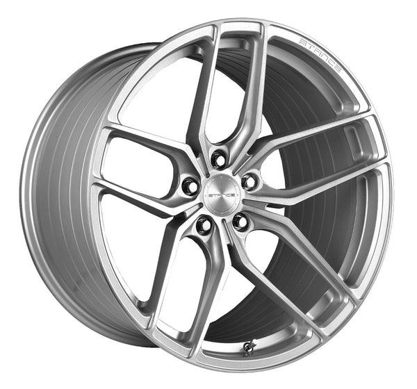 STANCE WHEELS SF03 BRUSH FACE SILVER