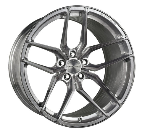 STANCE WHEELS SF03 BRUSH TITANIUM
