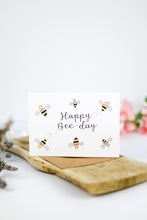 Load image into Gallery viewer, Happy Bee-Day Card