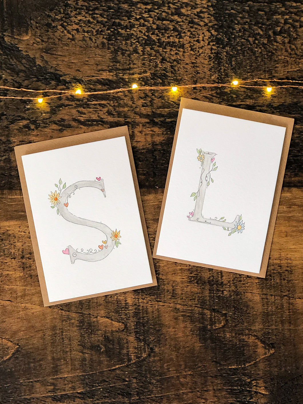 Personalised Letter Card