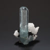 6199 - AQUAMARINE with SCHORL & ALBITE