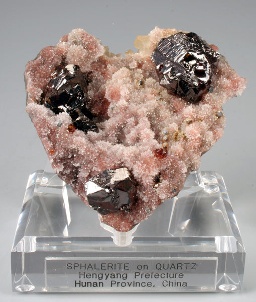 6862 - SPHALERITE on QUARTZ