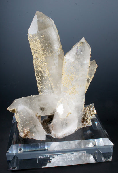 7278 - QUARTZ, SIDERITE, and MUSCOVITE