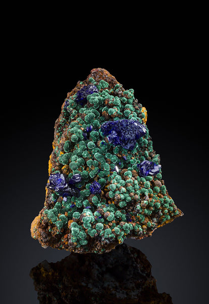 7367 - AZURITE with MALACHITE