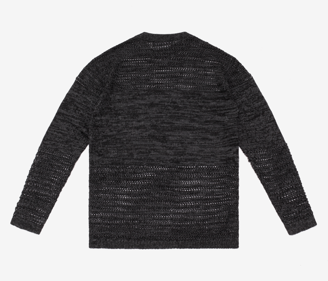 DROP NEEDLE PULLOVER SWEATER