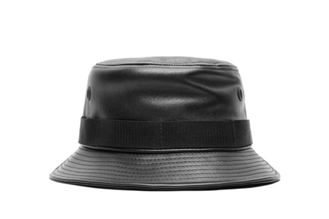 Leather Ashes Bucket Hat
