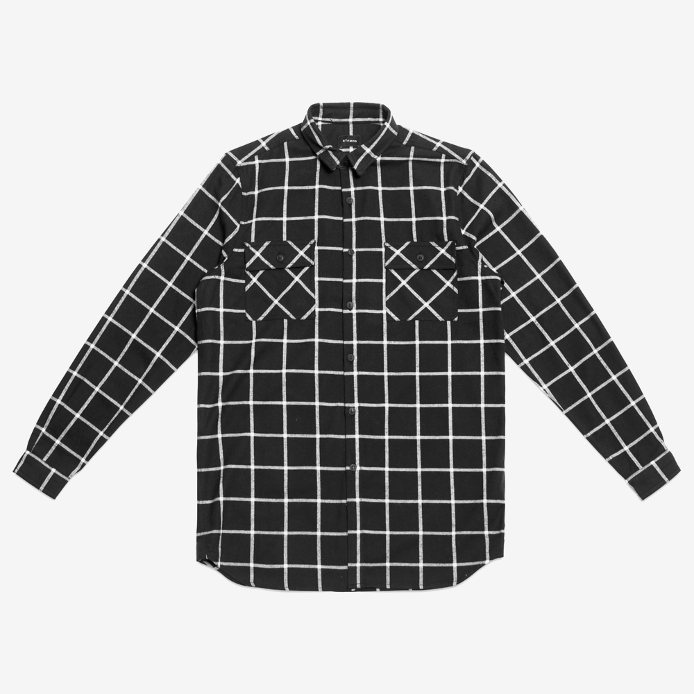 ELONGATED OFF THE GRID FLANNEL