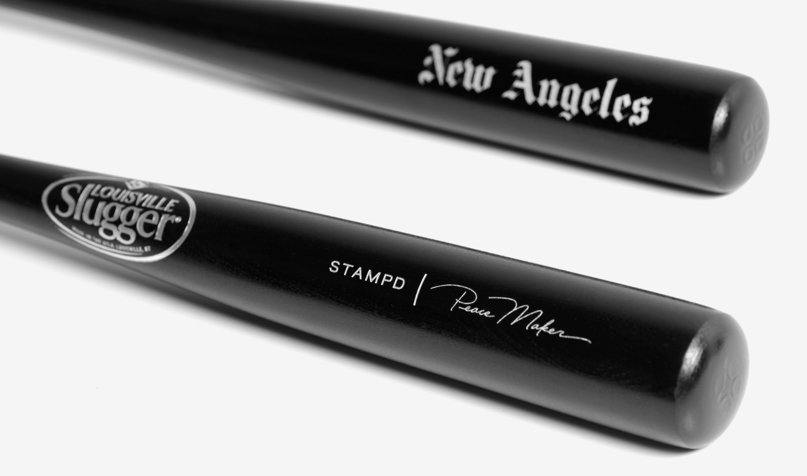 New Angeles Peace Maker Louisville Slugger Mini Bat