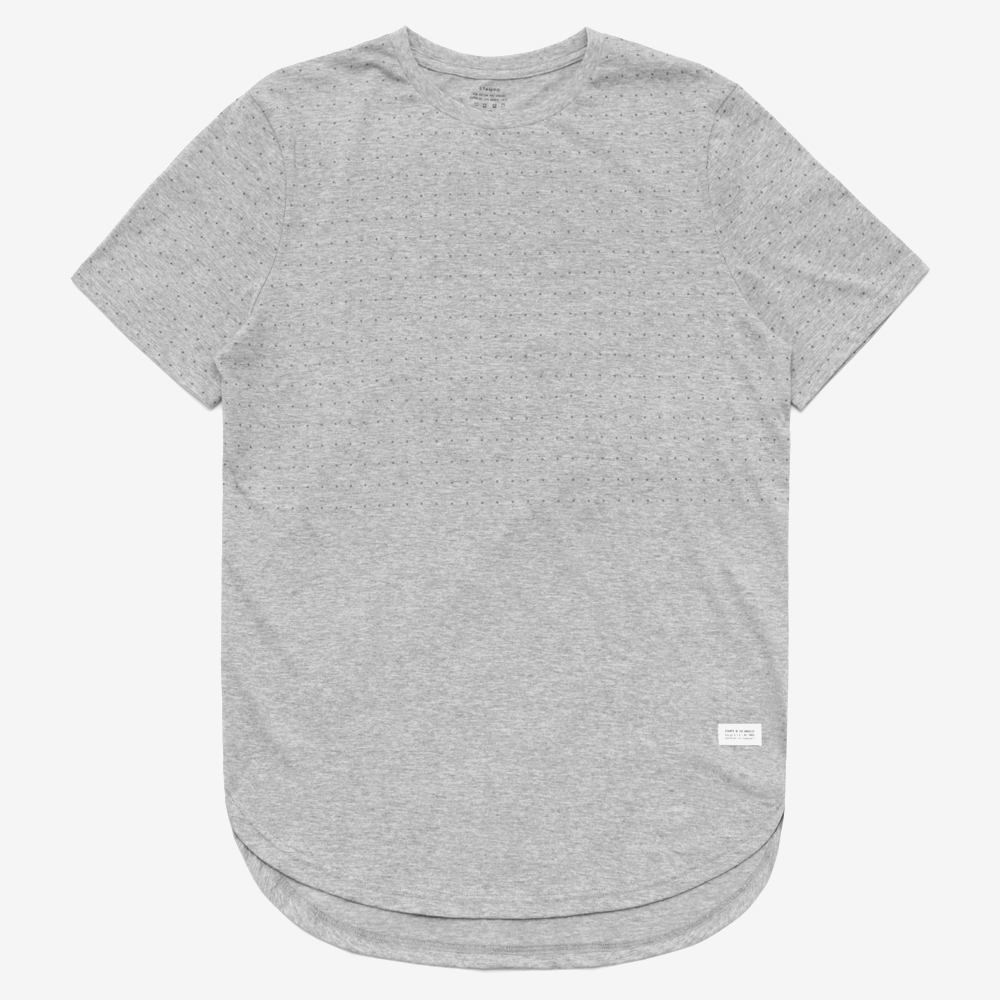 DISTANT TEE WITH BREACH PRINT