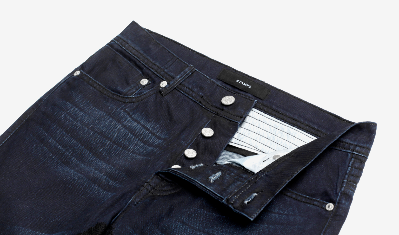 MT MOTO REPAIRED DENIM