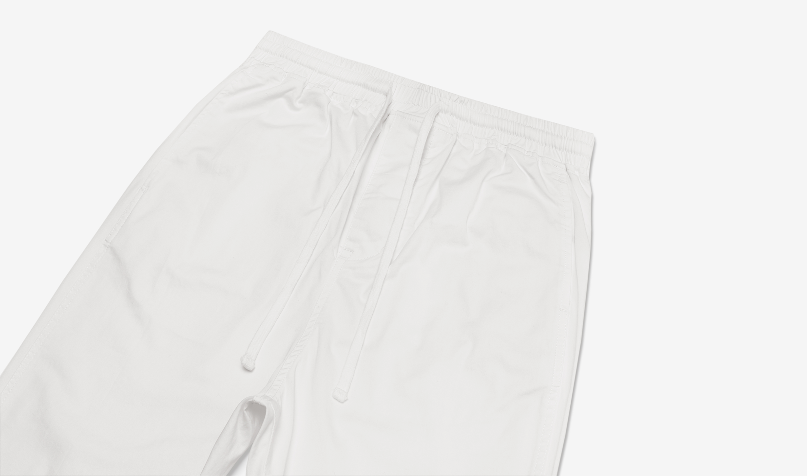 Washed Cropped Chino