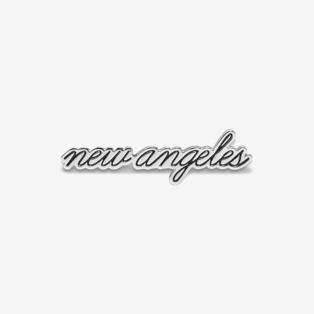 New Angeles Cursive Enamel Pin