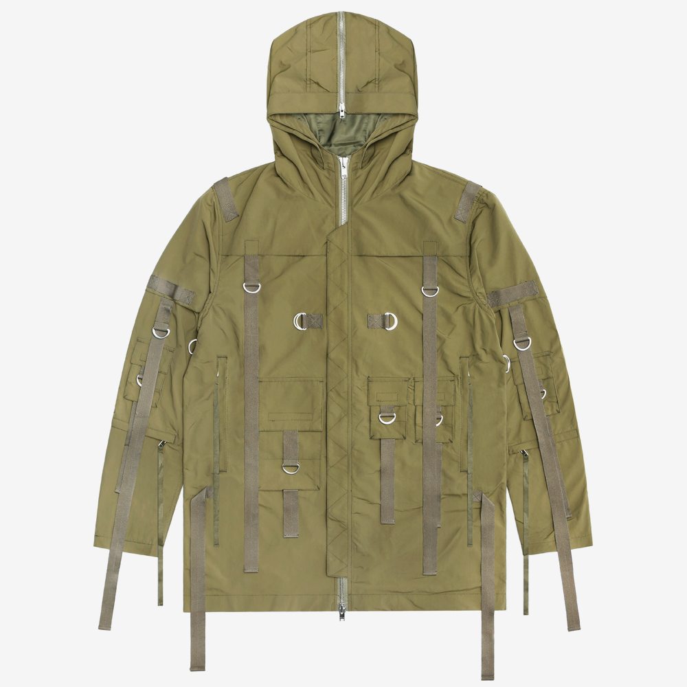 Flex Strapped Trench