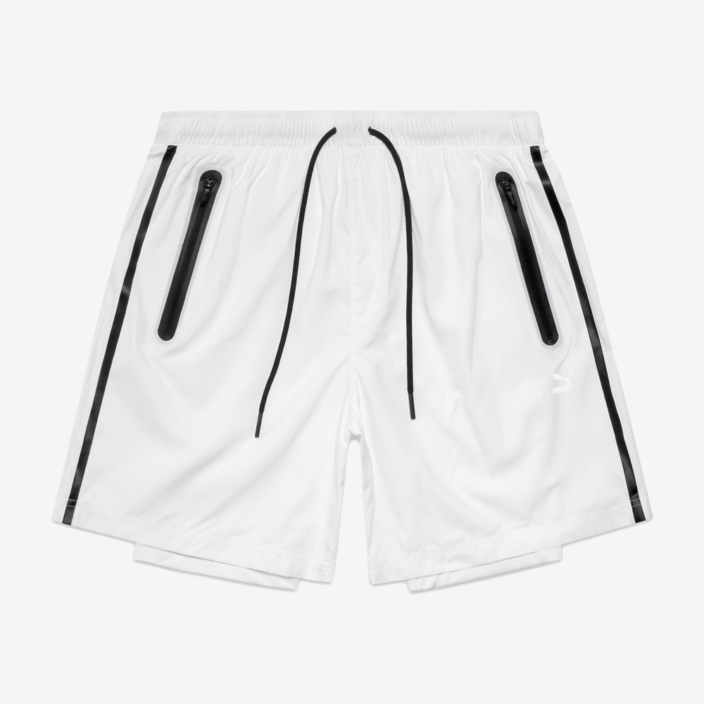 Stampd x Puma New Tech Shorts - White