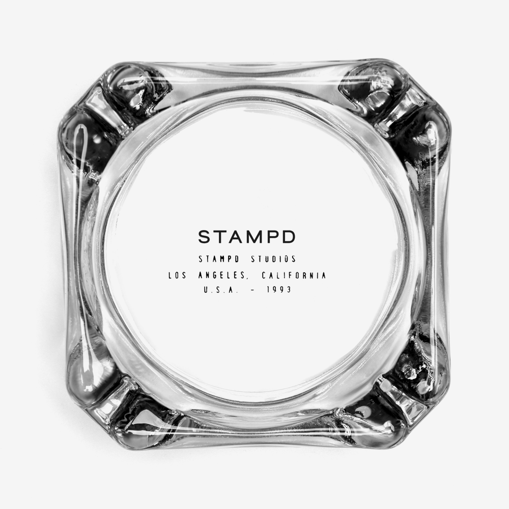 Stacked Logo Ashtray
