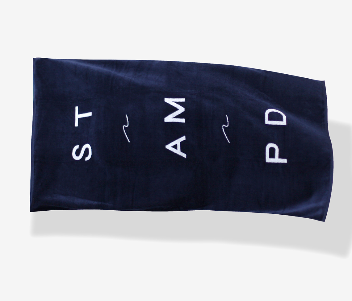 Wave Logo Towel