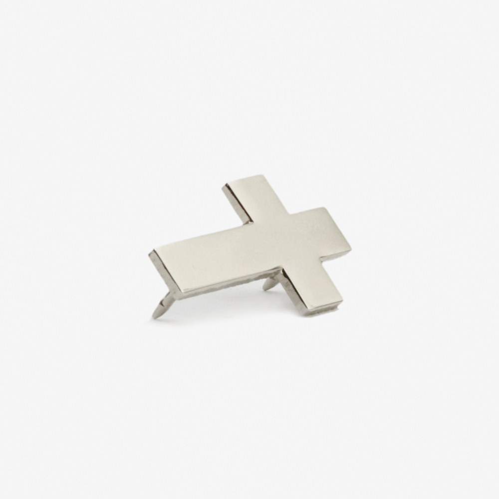 Nickel Plated Cross Pin