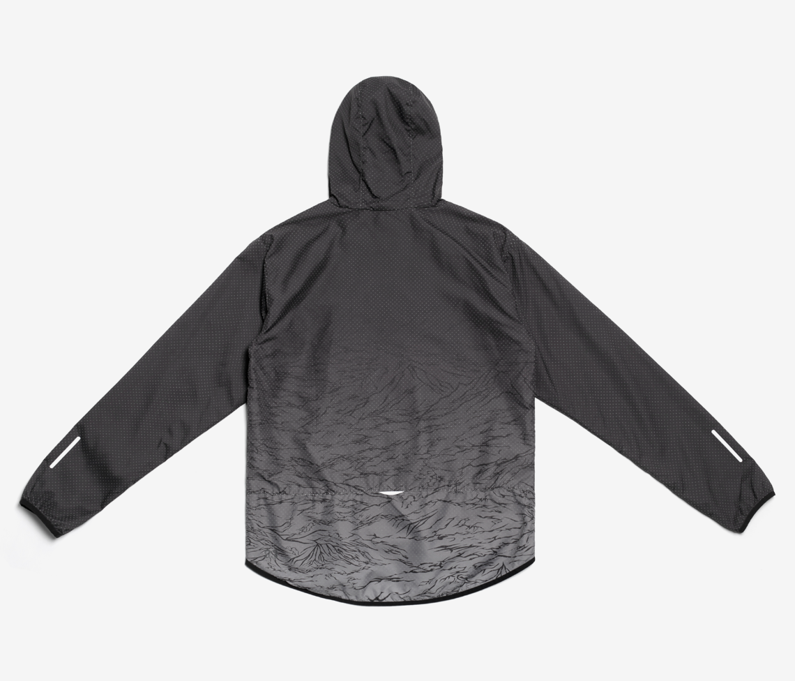Stampd x Puma Tech Windbreaker - Black Gradation
