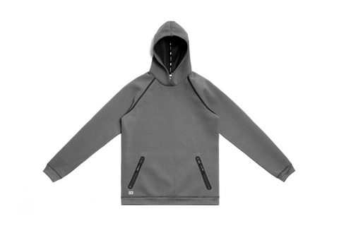 Stampd x Puma Drop Neck Sweatshirt - Dark Heather Grey