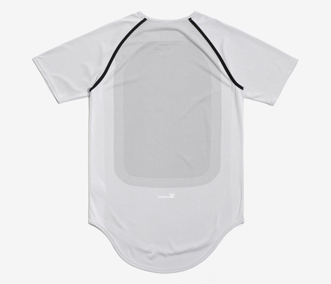 Stampd x Puma Raglan Sleeve - Light Heather Grey