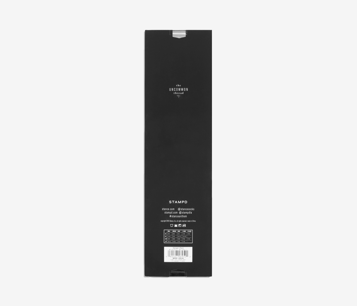 Stampd x Stance Invisible Sock Essential Pack
