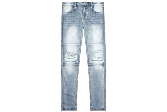 Relaxed Panel Denim