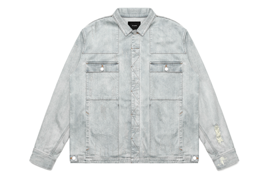 Distressed Against Denim Jacket