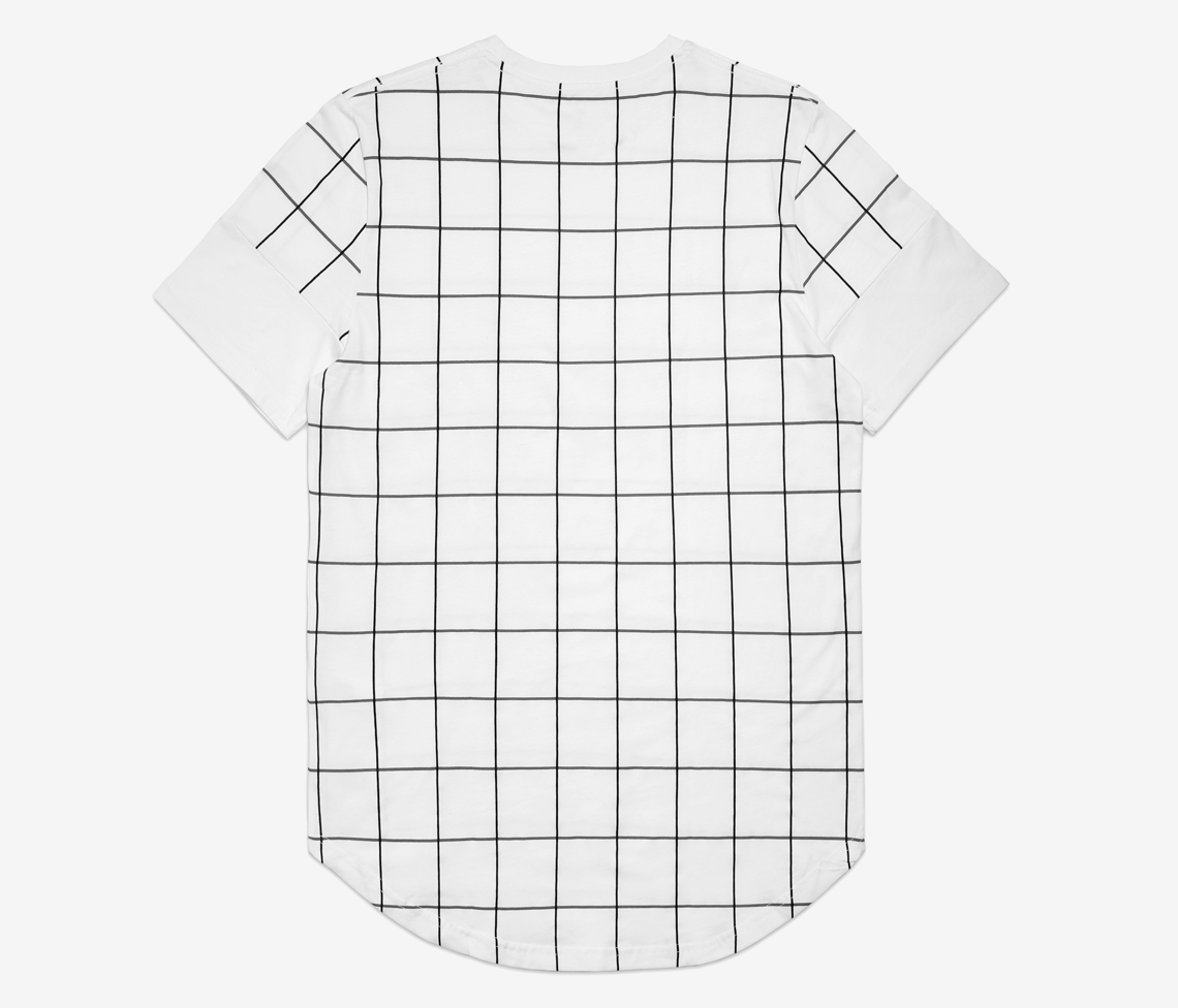 OFF THE GRID SCALLOP TEE