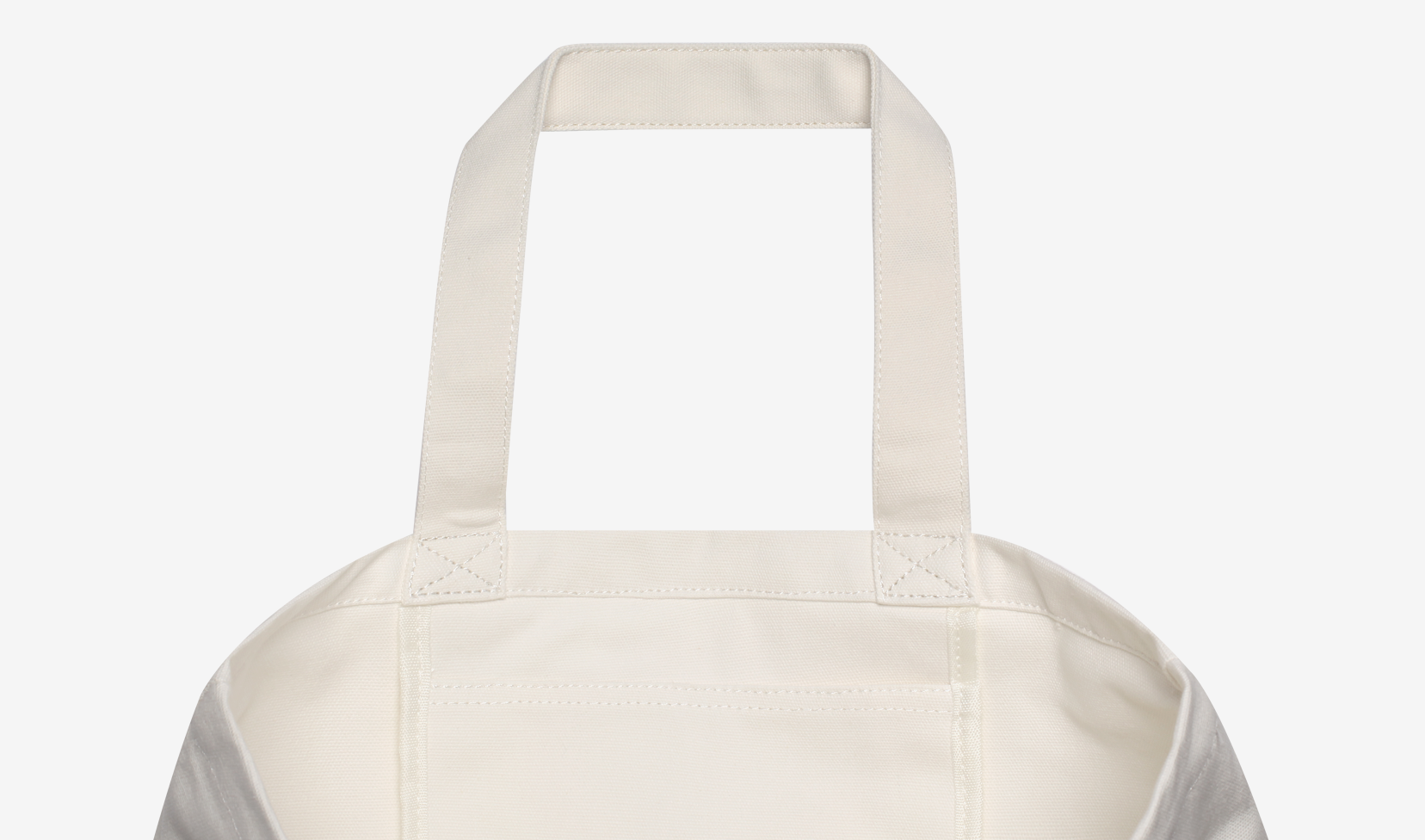Stampd Cotton Slogan Tote