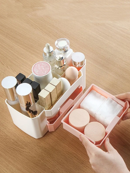 1 piece color matched cosmetic box