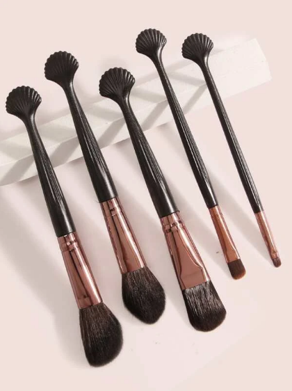 20pc Shell Design Handle Makeup Brush