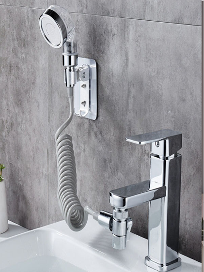 FAUCET EXTENSION WITH SHOWER ARTICHOKE - FAUCY