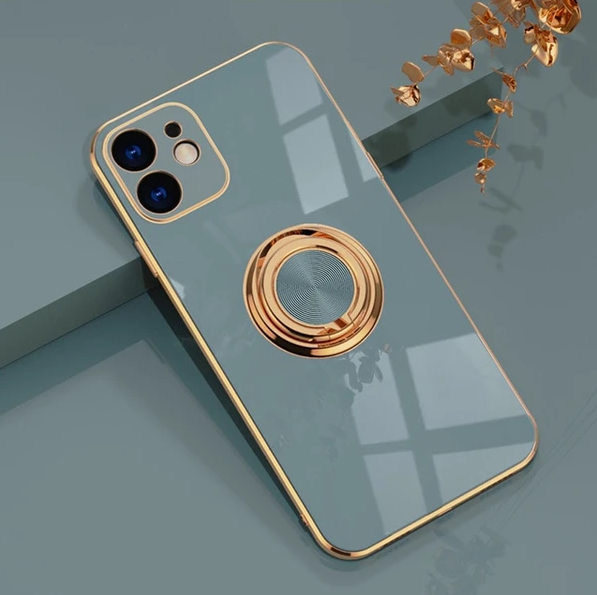 Plated iPhone Case with Ring