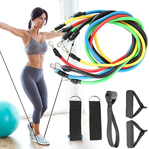 RESISTANCE BANDS KIT X 11 PIECES🤸‍♂🤸